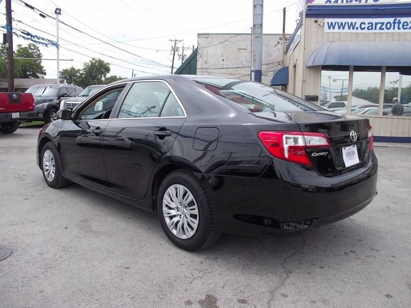 2012 Toyota Camry for sale at Carz Of Texas Auto Sales in San Antonio TX