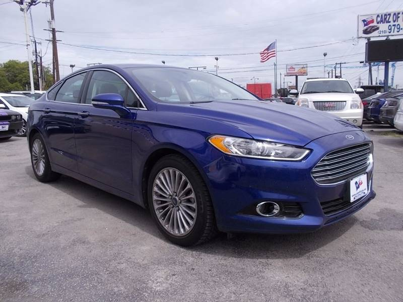 2013 Ford Fusion for sale at Carz Of Texas Auto Sales in San Antonio TX