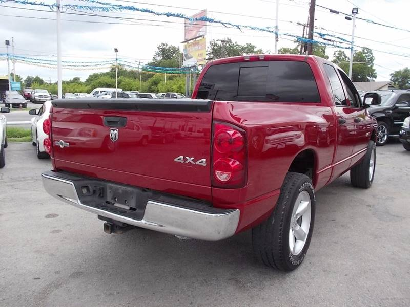 2008 Dodge Ram Pickup 1500 for sale at Carz Of Texas Auto Sales in San Antonio TX