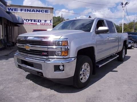 2015 Chevrolet Silverado 2500HD for sale at Carz Of Texas Auto Sales in San Antonio TX