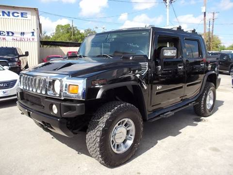 2006 HUMMER H2 SUT for sale at Carz Of Texas Auto Sales in San Antonio TX