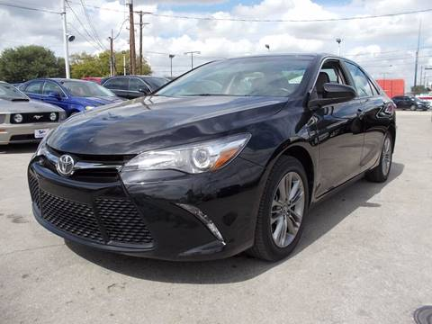 2016 Toyota Camry for sale at Carz Of Texas Auto Sales in San Antonio TX