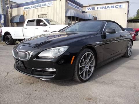 Bmw 6 Series For Sale In San Antonio Tx Carsforsale