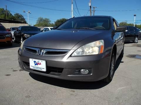 2007 Honda Accord for sale in San Antonio, TX