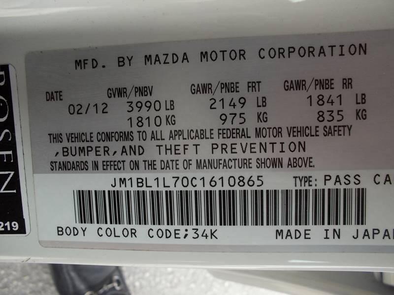 2012 Mazda MAZDA3 for sale at Carz Of Texas Auto Sales in San Antonio TX