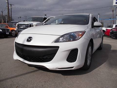 2012 Mazda MAZDA3 for sale at Carz Of Texas Auto Sales in San Antonio TX