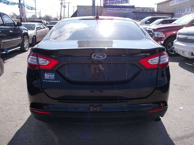 2015 Ford Fusion for sale at Carz Of Texas Auto Sales in San Antonio TX