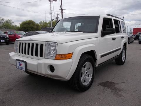 2006 Jeep Commander for sale at Carz Of Texas Auto Sales in San Antonio TX