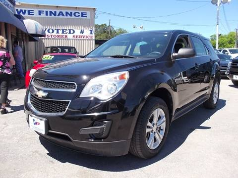 2012 Chevrolet Equinox for sale at Carz Of Texas Auto Sales in San Antonio TX