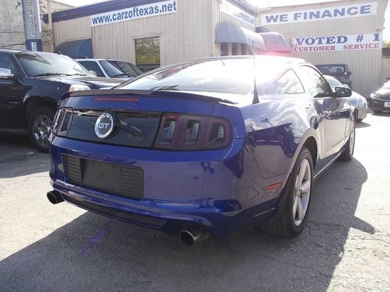2013 Ford Mustang for sale at Carz Of Texas Auto Sales in San Antonio TX