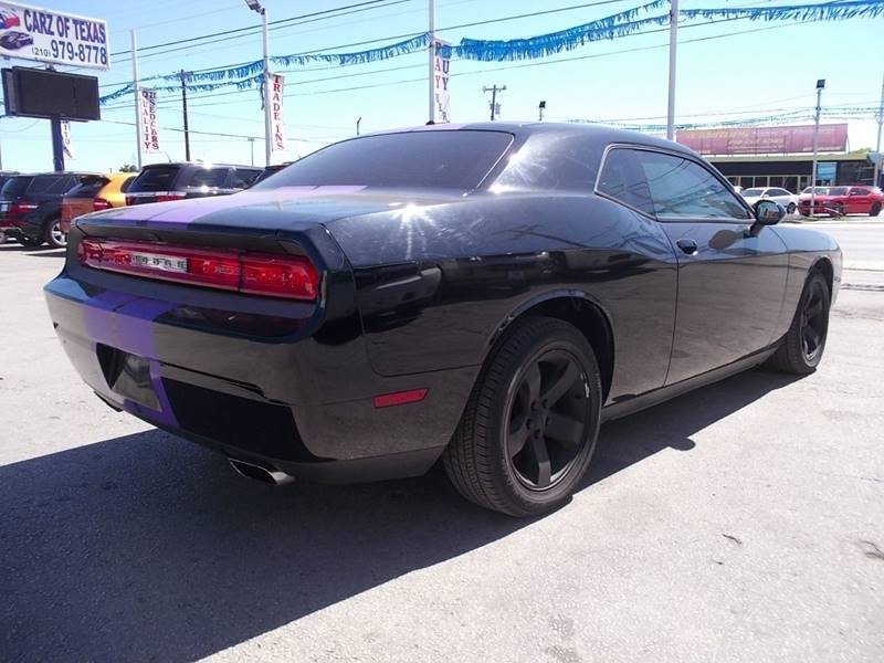 2012 Dodge Challenger for sale at Carz Of Texas Auto Sales in San Antonio TX