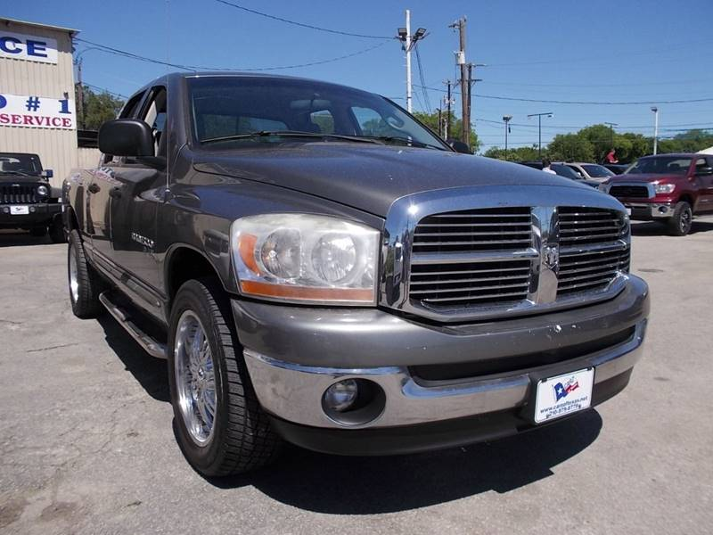 2006 Dodge Ram Pickup 1500 for sale at Carz Of Texas Auto Sales in San Antonio TX