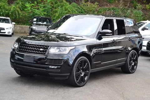 2016 Land Rover Range Rover for sale in Peabody, MA