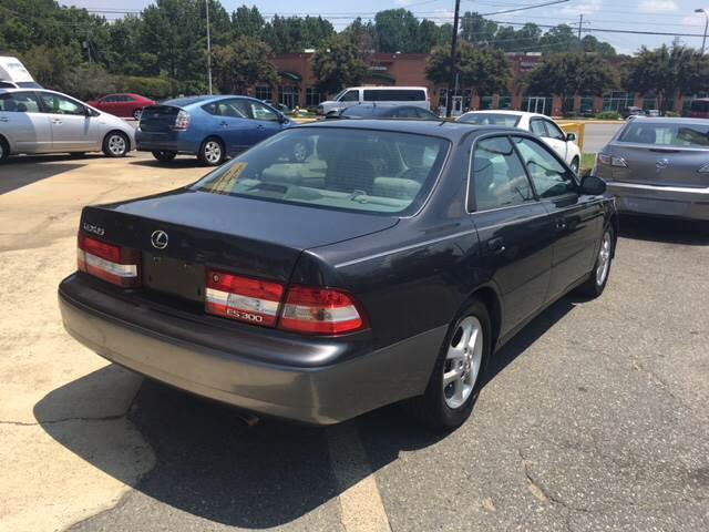 2001 Lexus ES 300 4dr Sedan - Charlotte NC