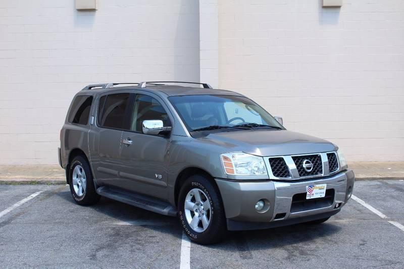 2007 Nissan Armada for sale at El Compadre Trucks in Doraville GA