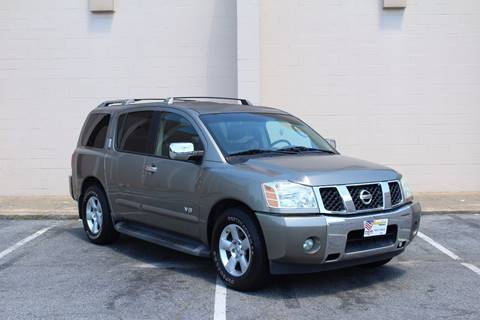 2007 Nissan Armada for sale at El Compadre Trucks in Doraville GA