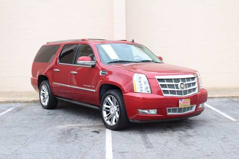 2012 Cadillac Escalade ESV for sale in Doraville, GA