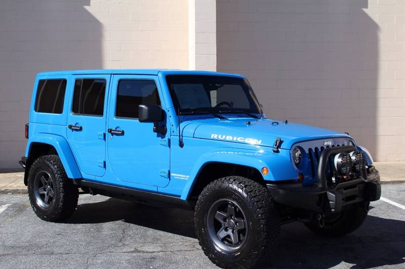 2012 Jeep Wrangler Unlimited For Sale At El Compadre Trucks In Doraville GA