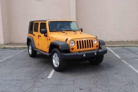 2012 Jeep Wrangler Unlimited for sale in Doraville, GA