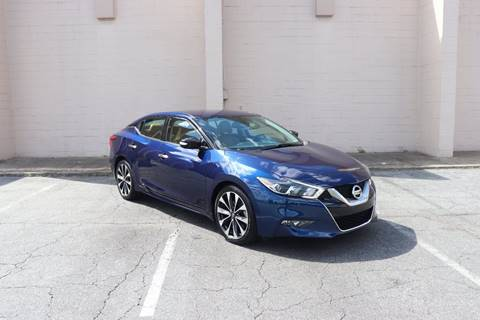 2016 Nissan Maxima for sale at El Compadre Trucks in Doraville GA
