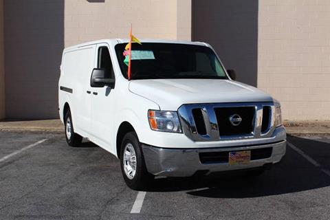 2013 Nissan NV Cargo for sale at El Compadre Trucks in Doraville GA