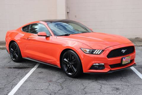2016 Ford Mustang for sale at El Compadre Trucks in Doraville GA