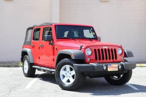 2017 Jeep Wrangler Unlimited for sale at El Compadre Trucks in Doraville GA