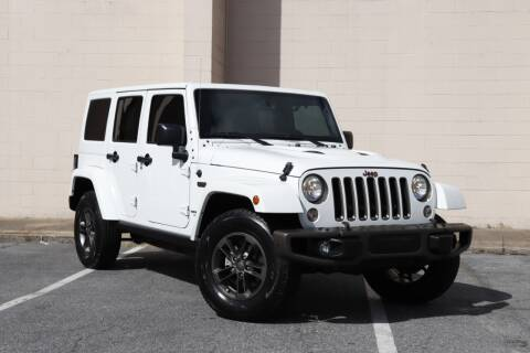 2016 Jeep Wrangler Unlimited for sale at El Compadre Trucks in Doraville GA