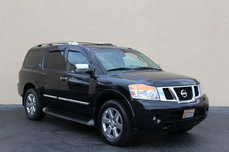 2011 Nissan Armada for sale at El Compadre Trucks in Doraville GA