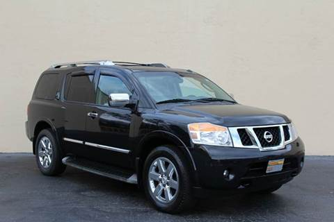 2011 Nissan Armada for sale at El Compadre Trucks in Doraville GA
