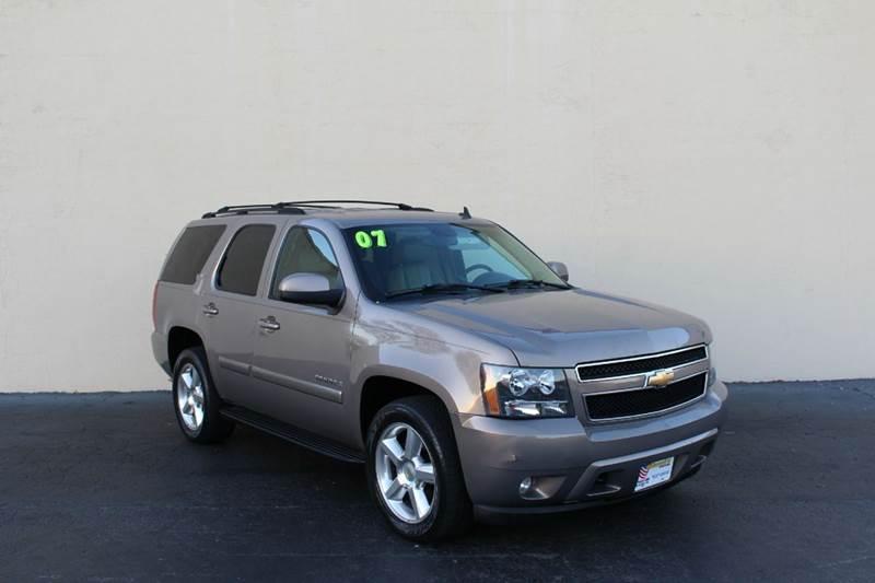 2007 Chevrolet Tahoe for sale at El Compadre Trucks in Doraville GA