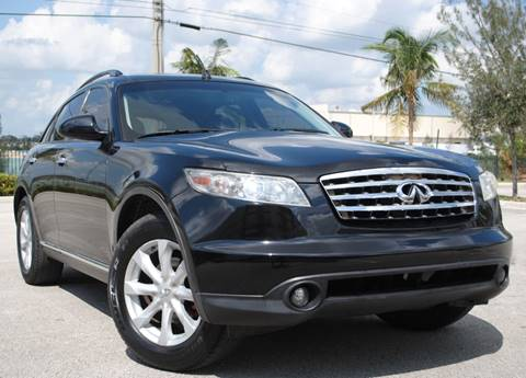 2006 Infiniti FX35 for sale in Hollywood, FL