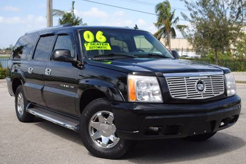 2006 Cadillac Escalade ESV for sale in Hollywood, FL