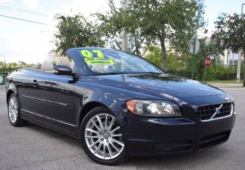 2007 Volvo C70 for sale in Hollywood, FL