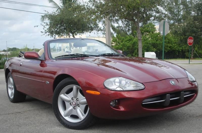 1997 Jaguar XK Series XK8 2dr Convertible   Hollywood FL