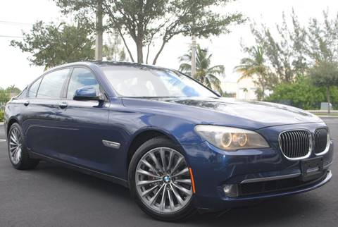2011 BMW 7 Series for sale in Hollywood, FL