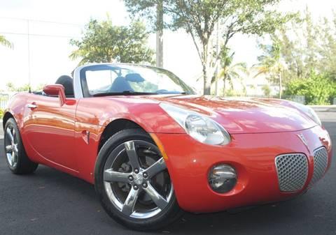 2008 Pontiac Solstice for sale in Hollywood, FL