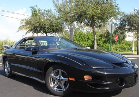 2000 Pontiac Firebird for sale in Hollywood, FL