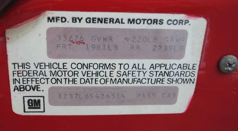 1976 Chevrolet Corvette Coupe - Hollywood FL