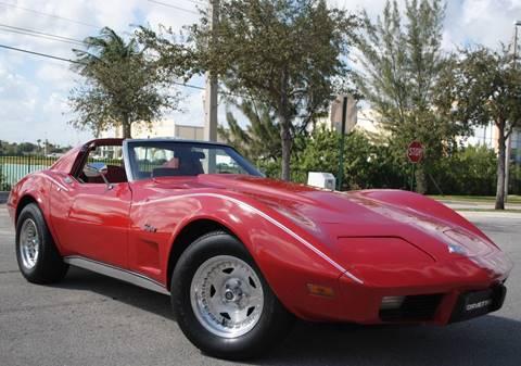 1976 Chevrolet Corvette for sale in Hollywood, FL