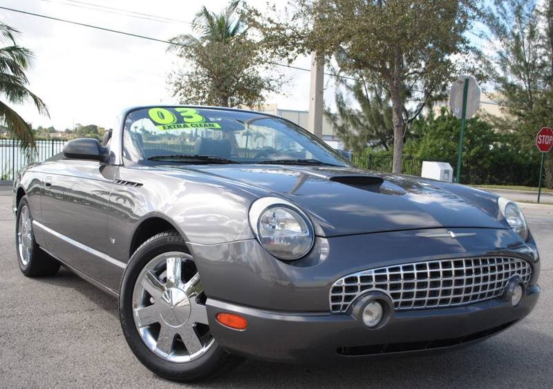 2003 Ford Thunderbird Deluxe 2dr Convertible w/ Removable Top - Hollywood FL