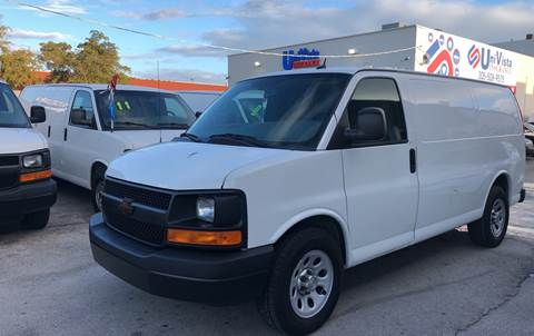44448c370feee4 Used Chevrolet Express Cargo For Sale in Miami