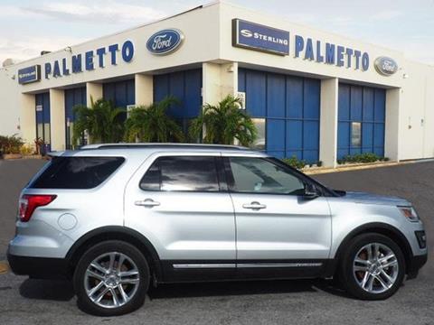 2016 Ford Explorer for sale in Miami FL