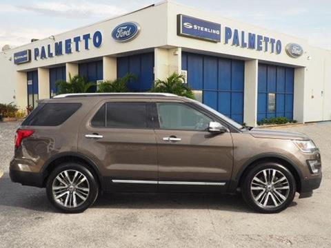 2016 Ford Explorer for sale in Miami, FL