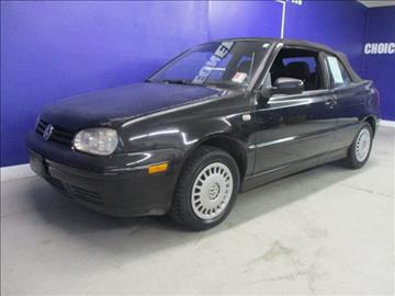 2001 Volkswagen Cabrio for sale in Westminster, CO