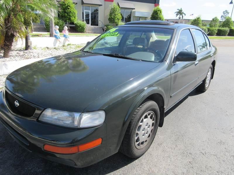 1996 Nissan Maxima Gle 4dr Sedan In Punta Gorda Fl