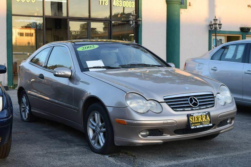 2002 Mercedes-Benz C-Class C230 Kompressor 2dr Hatchback - Chicago IL
