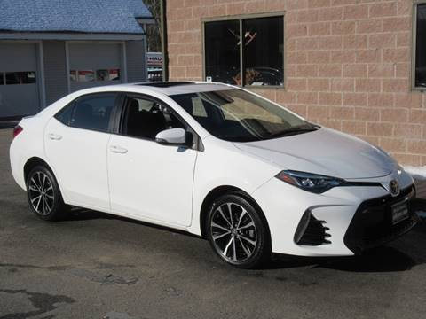 2017 Toyota Corolla for sale at Advantage Automobile Investments, Inc in Littleton MA