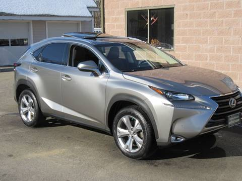 2017 Lexus NX 200t for sale at Advantage Automobile Investments, Inc in Littleton MA