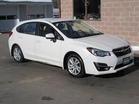 2016 Subaru Impreza for sale at Advantage Automobile Investments, Inc in Littleton MA